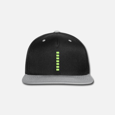 Tight whitegreenstripeimage - Snapback Cap