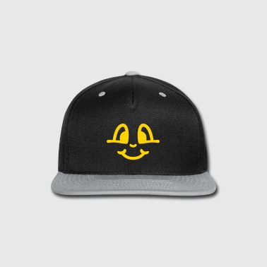 smile - Snap-back Baseball Cap