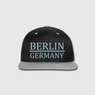 Berlin - Germany - Snap-back Baseball Cap