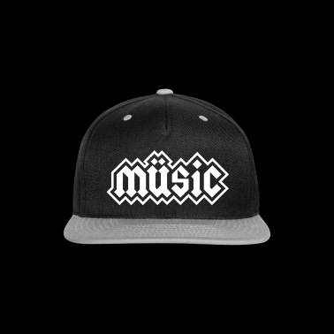 Heavy Metal Music - Snap-back Baseball Cap