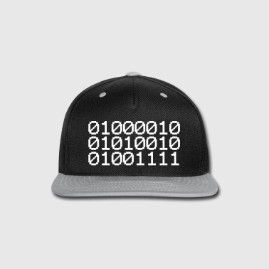 BINARY BRO - Snap-back Baseball Cap