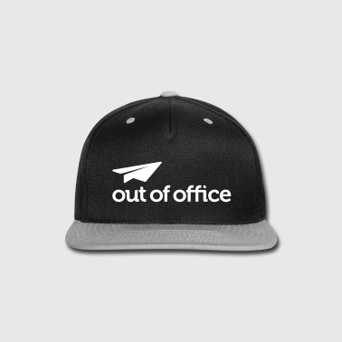 Out Of Office Hat - Snap-back Baseball Cap