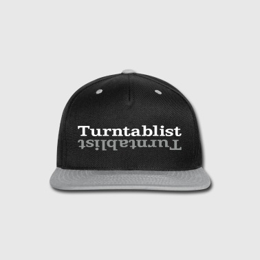 Turntablist ʇsılqɐʇuɹn⊥ - Snap-back Baseball Cap