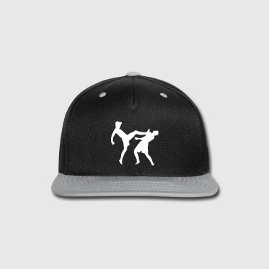 Fight - Kick - Snap-back Baseball Cap