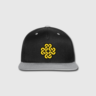 Knot pattern - Snap-back Baseball Cap