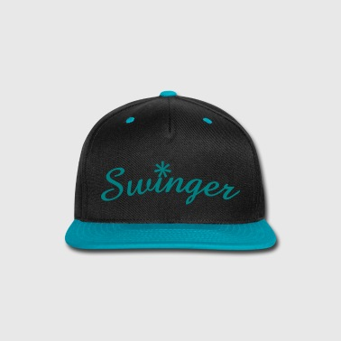 Swinger script - Snap-back Baseball Cap