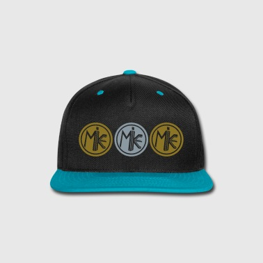 Shiny M.I.K.E. (SHINY GOLD & SHINY SILVER Hat) - Snap-back Baseball Cap