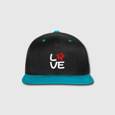 Soccer Love - Snap-back Baseball Cap