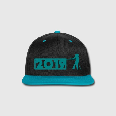 Production Year Happy New Year 2019 - Snap-back Baseball Cap