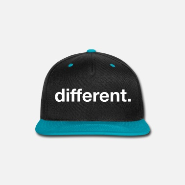 Be Different different - Snap-back Baseball Cap