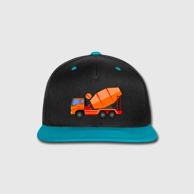Search concrete mixer - Snap-back Baseball Cap