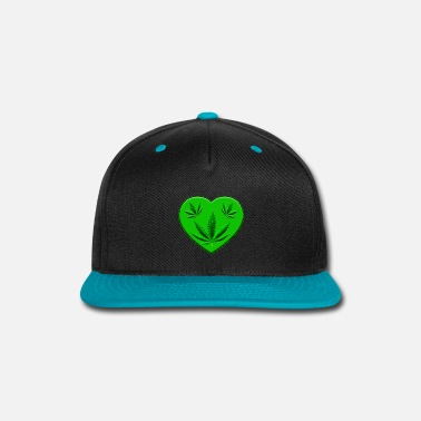 Ganja Ganja Lover - Snap-back Baseball Cap