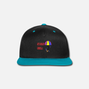 Rain RAINING - Snap-back Baseball Cap