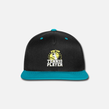 Tennis Sayings Saying Tennis - Snapback Cap