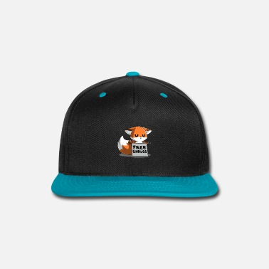 Illustration Knit Free Shrugs - Snap-back Baseball Cap