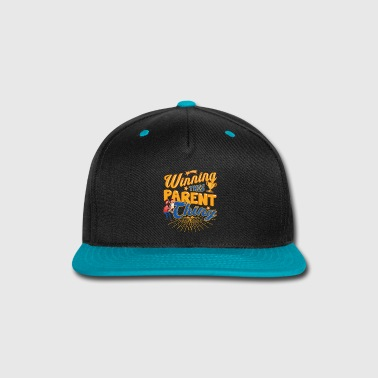 Parents Winning This Parent Thing Parenting - Snap-back Baseball Cap