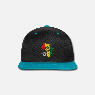 February Black History Month 2019 African Roots Gift - Snap-back Baseball Cap