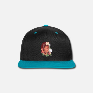 Organic Nature Nature - organs - kidney with flowers - Snapback Cap