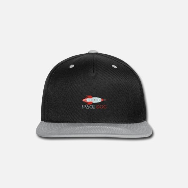 Cool Space Dog Rocket - Snapback Cap