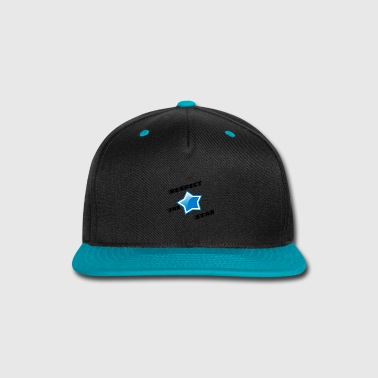 Respect Respect the star! - Snap-back Baseball Cap