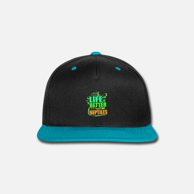 Water Bearded Dragon - Snap-back Baseball Cap