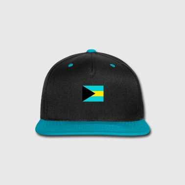 Hip Flag of Bahamas (bs) - Snap-back Baseball Cap
