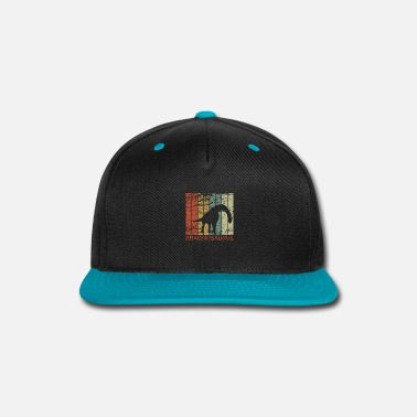 Aged To Perfection Brachiosaurus - Dinosaur, Dino, Prehistoric Gift - Snap-back Baseball Cap
