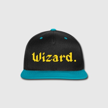 8 Bit Wizard Gamer - Snap-back Baseball Cap