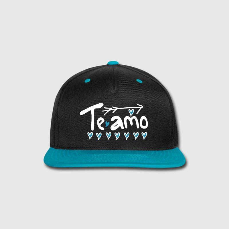 te amo - Snap-back Baseball Cap