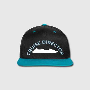 Cruise director shirt, hat or costume womens & kid - Snap-back Baseball Cap