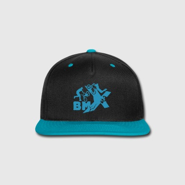 BMX [small size design] - Snap-back Baseball Cap