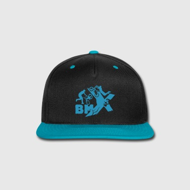 Backflip BMX [small size design] - Snap-back Baseball Cap