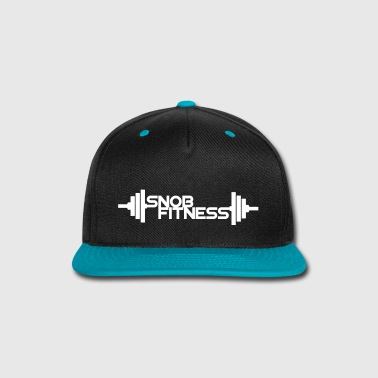 Snob Fitness Weight Logo - Snap-back Baseball Cap