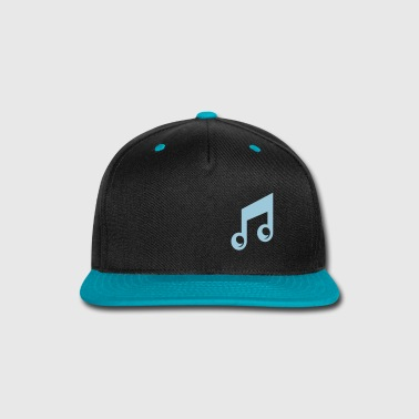Music Note - Snap-back Baseball Cap