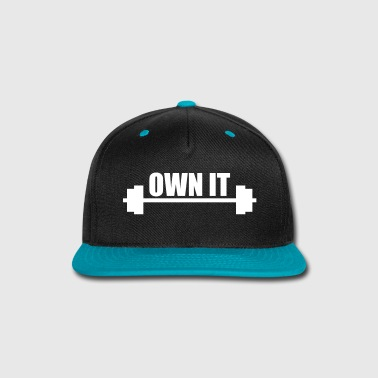 own it weight lifting - Snap-back Baseball Cap