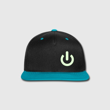Power Button - Snap-back Baseball Cap