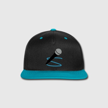 microphone - Snap-back Baseball Cap