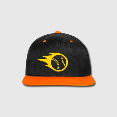 Fireball Baseball or Softball - Snap-back Baseball Cap