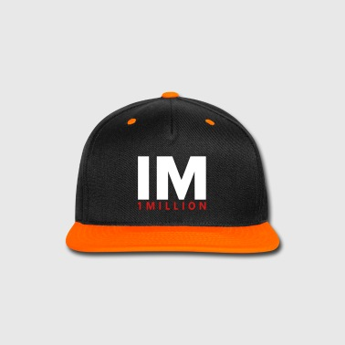 1M - Snap-back Baseball Cap