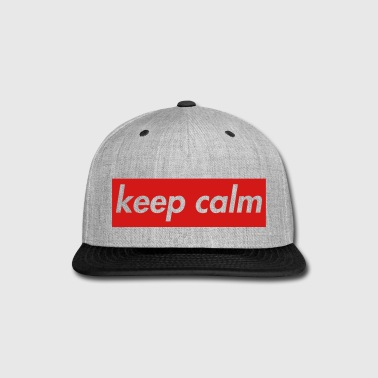 keep calm - Snap-back Baseball Cap