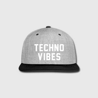 Techno vibes - Snap-back Baseball Cap