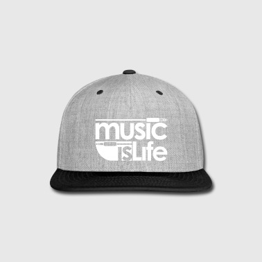 Music is Life - Snap-back Baseball Cap