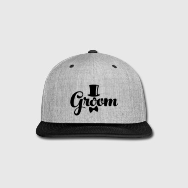 Groom - Weddings/Bachelor - Snap-back Baseball Cap