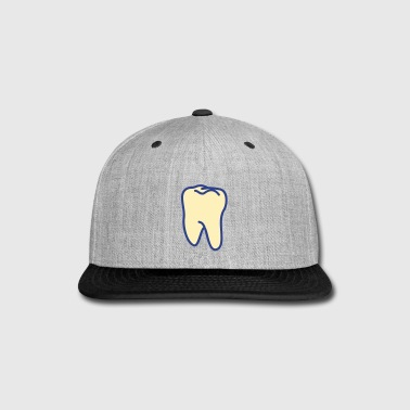 teeth - tooth - Snap-back Baseball Cap