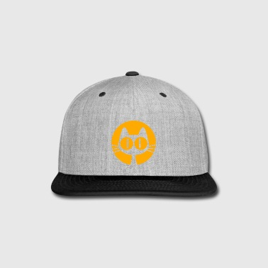 Cat on Moon by Cheerful Madness!! - Snap-back Baseball Cap