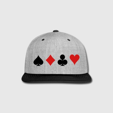 Card Game - Playind Card - Snap-back Baseball Cap