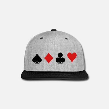 Cards Card Game - Playind Card - Snap-back Baseball Cap