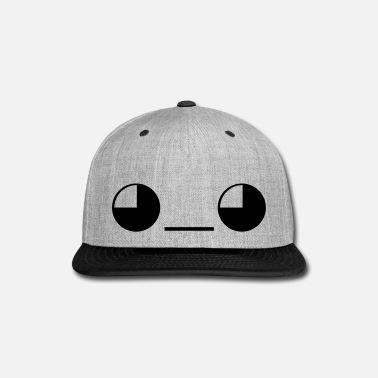 Funky Give Emoticon Face - Snap-back Baseball Cap