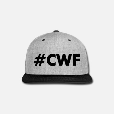 Christian CWF Women's Tee by American Apparel - Pink/White H - Snap-back Baseball Cap