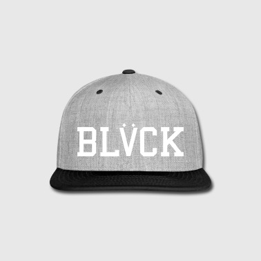 BLACK - Snap-back Baseball Cap